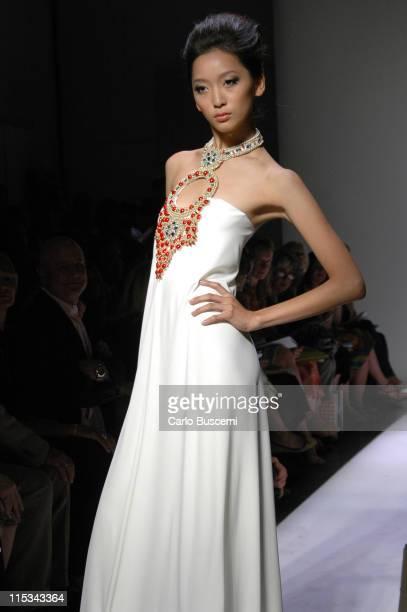 Anne Watanabe wearing Diane Von Furstenberg Spring 2006