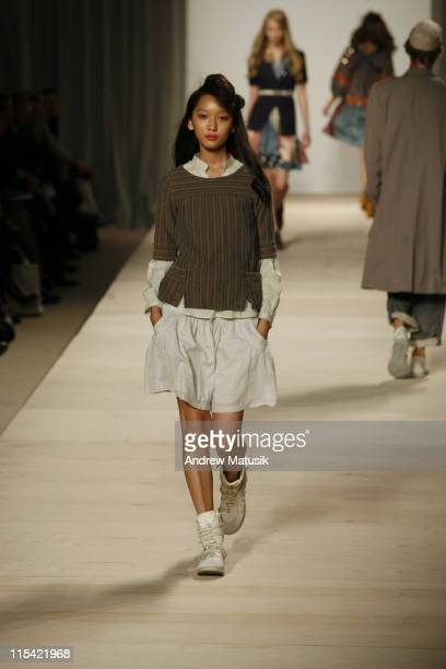Anne Watanabe wearing Marc by Marc Jacobs Spring 2007