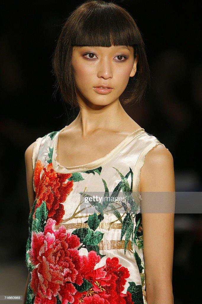 Olympus Fashion Week Spring 2007 - Vivienne Tam - Runway : News Photo