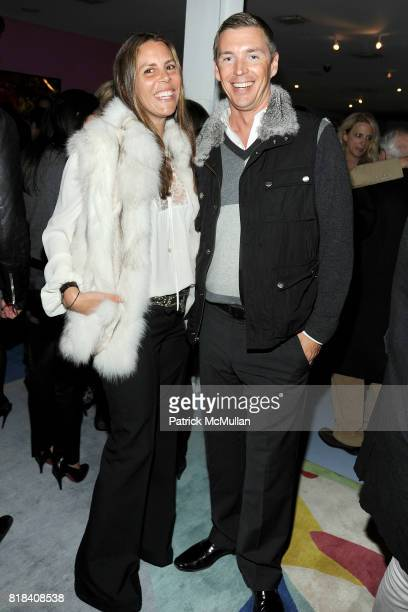 Anne Waterman and Billy Daley attend DVF CFDA Celebrate Lincoln Center Stephanie Winston Wolkoff at DVF Studio on January 19 2010 in New York City