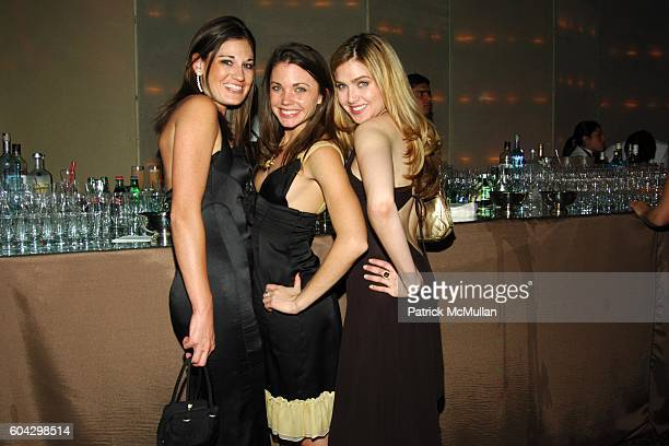 Anne Watkins Rachel Krupa and Ali Zweben attend LIZZIE GRUBMAN and CHRIS STERN Wedding Reception at Cipriani 42nd on March 18 2006 in New York City