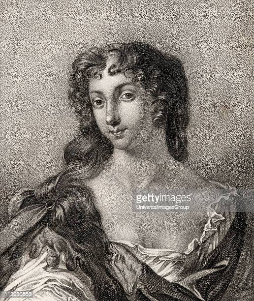 Anne Wharton nee Lee Marchioness of Wharton 1659 1685 English poet From the book A catalogue of Royal and Noble Authors Volume III published 1806