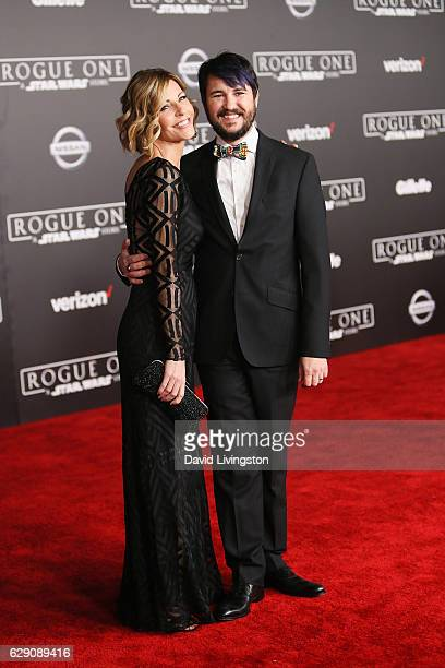 Anne Wheaton and Wil Wheaton arrive at the premiere of Walt Disney Pictures and Lucasfilm's Rogue One A Star Wars Story at the Pantages Theatre on...