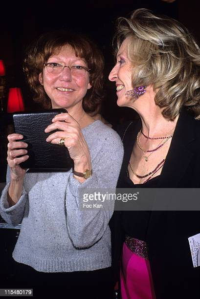 Anne Wiazemski and Emmanuelle de Boysson during 2007 Literary Awards Ceremony Cocktail Party at Closerie des Lilas Restaurant at Closerie des Lilas...