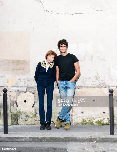 Anne Wiazemsky and Louis Garrel are photographed for Paris Match on september 04 2017 in Paris France