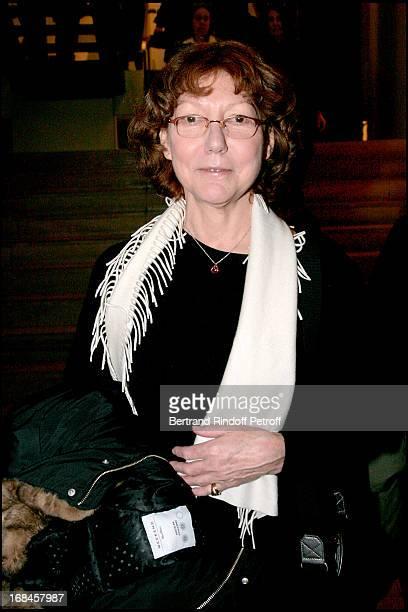 Anne Wiazemsky at Paris Premiere Of The Film L'Heure D'Ete At The L'Auditorium Du Musee D'Orsay