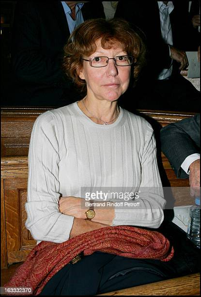 Anne Wiazemsky at the Gala Evening In Aid Of L' Institut Des Vaisseaux and Du Sang At The Grand Amphitheatre De La Sorbonne In Paris
