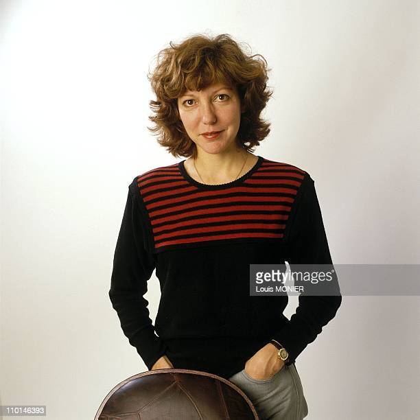 Anne Wiazemsky writer in France in October 1989