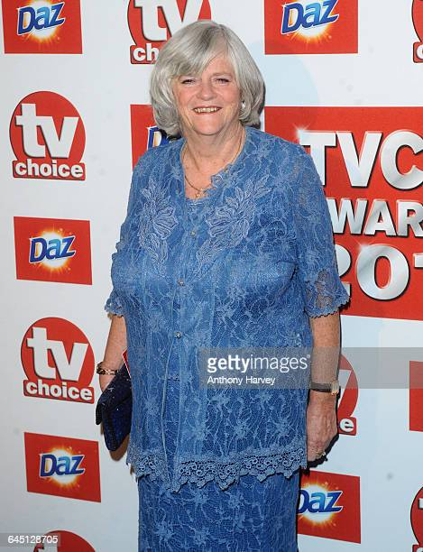Anne Widdecombe attends the 2011 TVChoice Awards on September 13 2011 at the Savoy Hotel in London