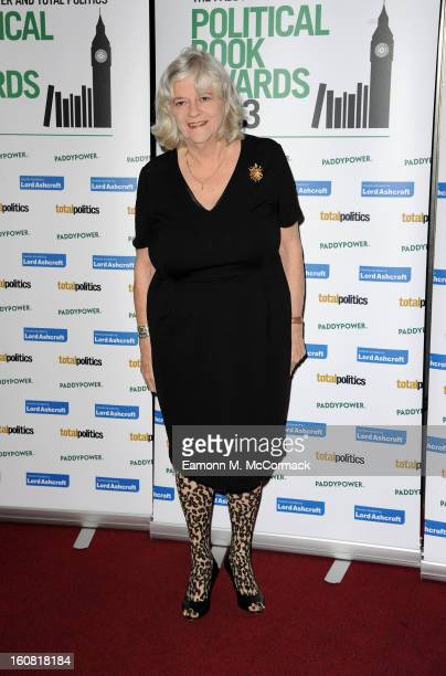 Anne Widdecombe attends The Political Book Awards 2013 at BFI IMAX on February 6 2013 in London England