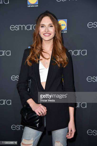 Anne Wilken attends the Lidl Esmara x Influencer collection launch at Glashaus on March 28 2019 in Berlin Germany