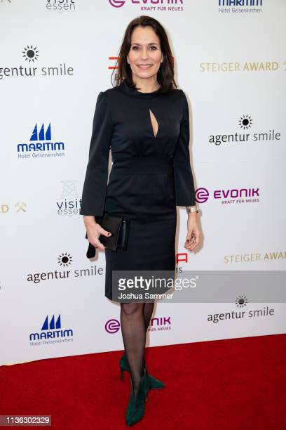 Anne Will attends the 14th Steiger Award at Zeche Hansemann on March 16 2019 in Dortmund Germany