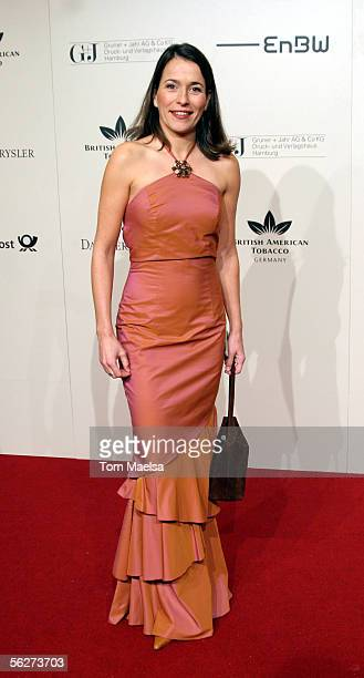 Anne Will attends the annual Bundespresseball in Berlin on November 25 2005 in Berlin Germany