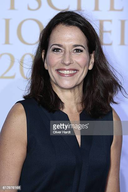 Anne Will attends the Deutscher Radiopreis at Schuppen 52 on October 6 2016 in Hamburg Germany