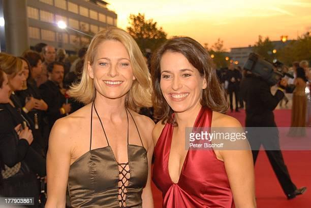Anne Will Freundin Dr Miriam Meckel ZDFGala Verleihung Deutscher Fernsehpreis 2008 Coloneum Köln NordrheinWestfalen Deutschland Europa roter Teppich...