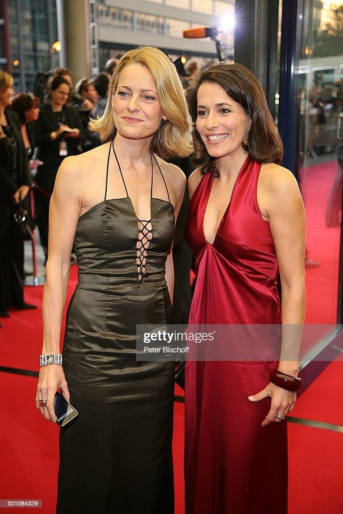 Anne Will , Freundin Miriam Meckel , ZDF-Gala Verleihung ...