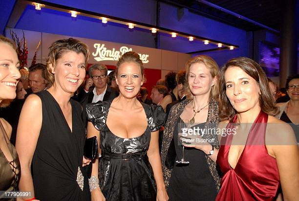 Anne Will Lebensgefährtin Dr Miriam Meckel Bettina Böttinger Barbara Schöneberger PartyGast AftershowParty nach ZDFGala Verleihung Deutscher...