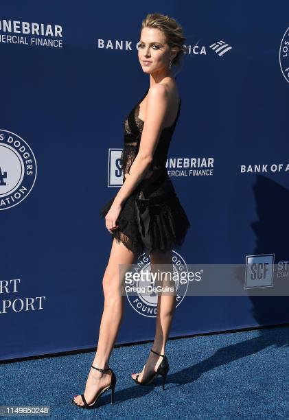 Anne Winters arrives at the 5th Annual Blue Diamond Foundation at Dodger Stadium on June 12 2019 in Los Angeles California