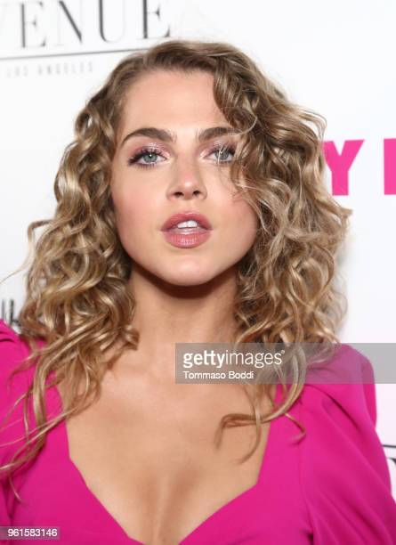 Anne Winters attends NYLON's Annual Young Hollywood Party sponsored by Pinkie Swear at Avenue Los Angeles on May 22 2018 in Hollywood California