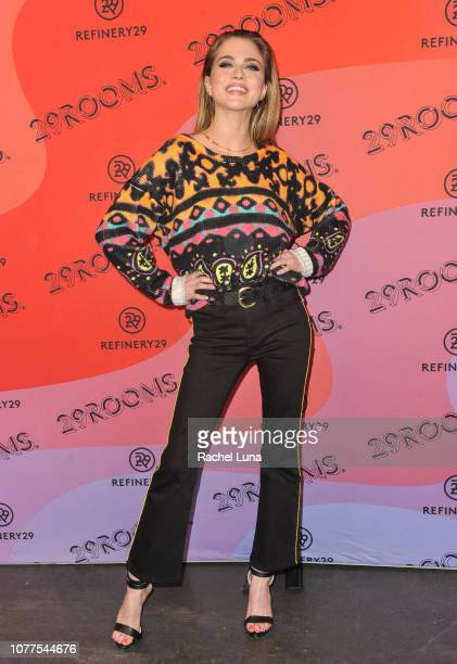 Anne Winters attends Refinery29's 29Rooms Los Angeles 2018 Expand Your Reality at The Reef on December 04 2018 in Los Angeles California