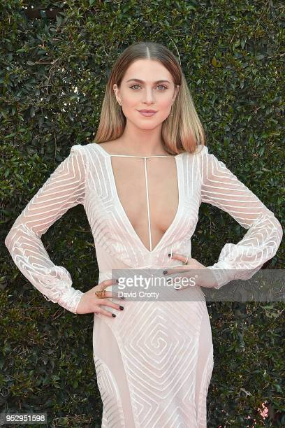Anne Winters attends the 2018 Daytime Emmy Awards Arrivals at Pasadena Civic Auditorium on April 29 2018 in Pasadena California