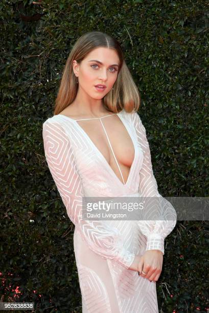 Anne Winters attends the 45th annual Daytime Emmy Awards at Pasadena Civic Auditorium on April 29 2018 in Pasadena California