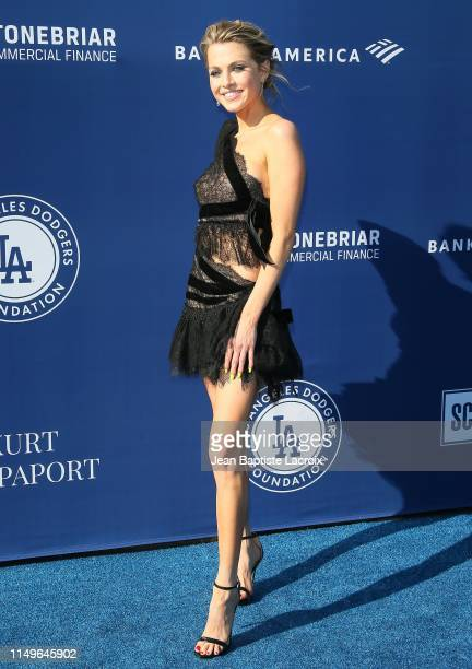 Anne Winters attends the 5th Annual Blue Diamond Foundation at Dodger Stadium on June 12 2019 in Los Angeles California
