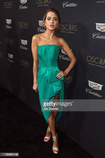 Anne Winters attends the Cadillac Oscar Week Celebration at Chateau Marmont on February 21 2019 in Los Angeles California