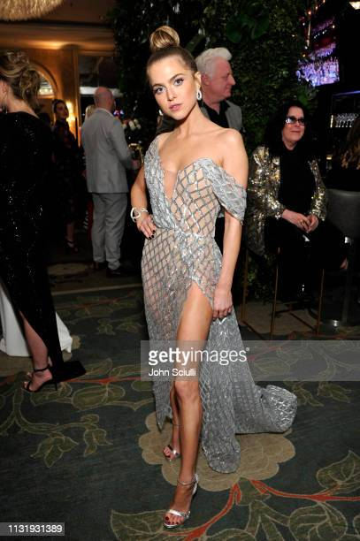 Anne Winters attends the MercedesBenz USA Awards Viewing Party at Four Seasons Los Angeles at Beverly Hills on February 24 2019 in Los Angeles...