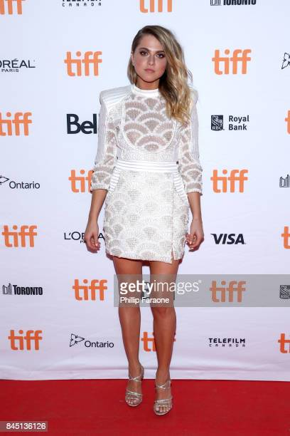 Anne Winters attends the 'Mom and Dad' premiere during the 2017 Toronto International Film Festival at Ryerson Theatre on September 9 2017 in Toronto...