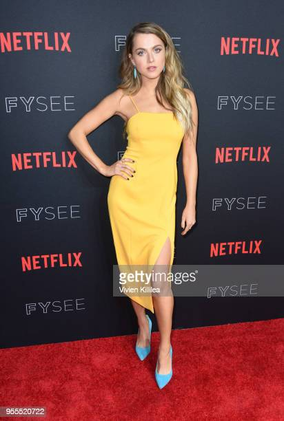 Anne Winters attends the Netflix FYSee Kick Off Party at Raleigh Studios on May 6 2018 in Los Angeles California