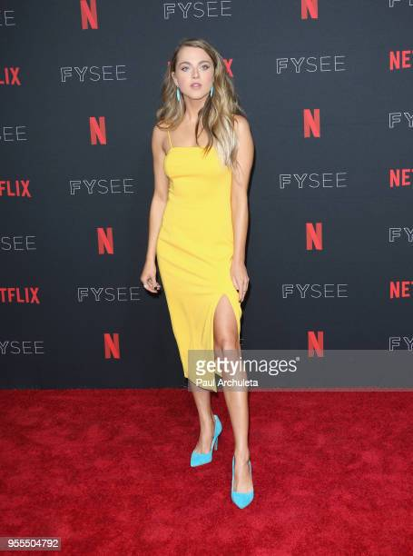Anne Winters attends the Netflix FYSEE KickOff at Netflix FYSEE At Raleigh Studios on May 6 2018 in Los Angeles California