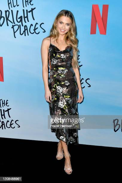 Anne Winters attends the Special Screening of Netflix's All The Bright Places at ArcLight Hollywood on February 24 2020 in Hollywood California