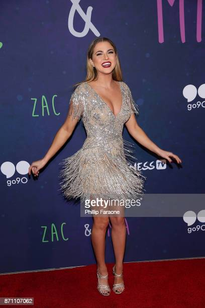 Anne Winters attends the 'Zac Mia' premiere event at Awesomeness HQ on November 6 2017 in Los Angeles California