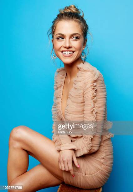 Anne Winters of ABC's 'Grand Hotel' poses for a portrait during the 2019 Winter TCA Portrait Studio at The Langham Huntington Pasadena on February 5...