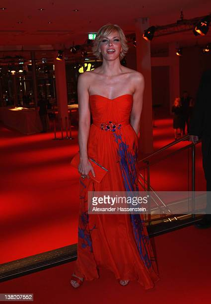 Anne Wis arrives at the 2012 Sports Gala 'Ball des Sports' at the RheinMain Hall on February 4 2012 in Wiesbaden Germany