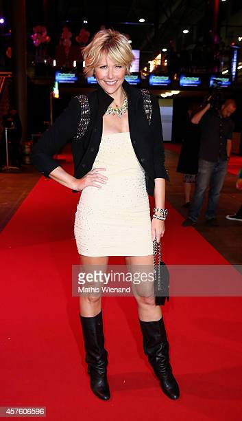 Anne Wis attends the 18th Annual German Comedy Awards at Coloneum on October 21 2014 in Cologne Germany The show will be aired on RTL on October 25