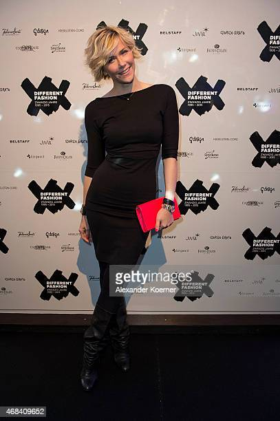 Anne Wis attends the Different Fashion Party 2015 on April 2 2015 in Kampen Sylt Germany
