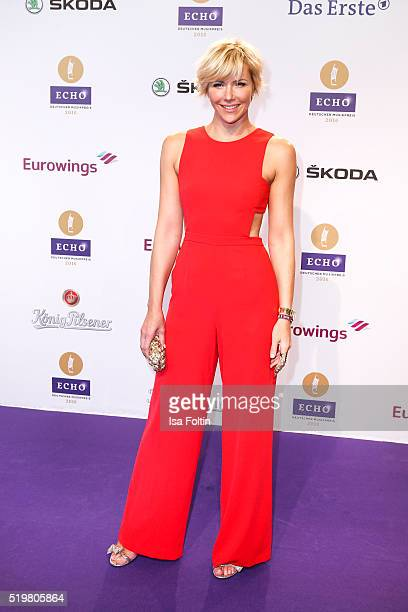 Anne Wis attends the Echo Award 2016 on April 07 2016 in Berlin Germany