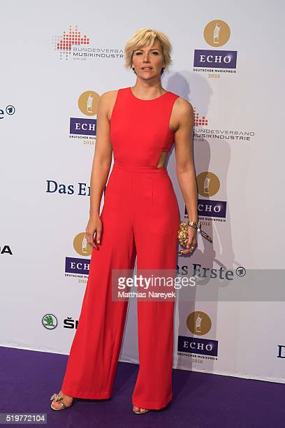 Anne Wis attends the Echo Award 2016 on April 7 2016 in Berlin Germany