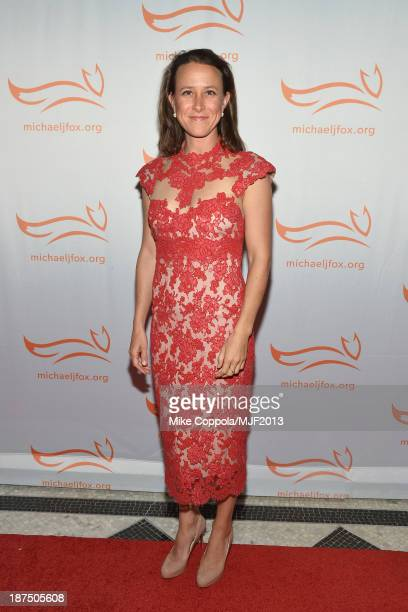 Anne Wojcicki attends the 2013 A Funny Thing Happened On The Way To Cure Parkinson's event benefiting The Michael J Fox Foundation for Parkinson's...