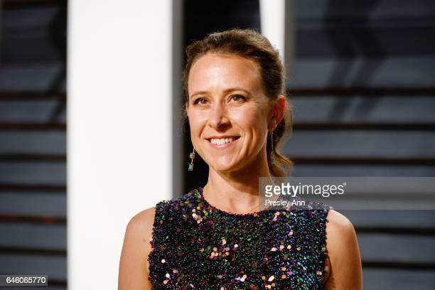 Anne Wojcicki attends the 2017 Vanity Fair Oscar Party hosted by Graydon Carter at Wallis Annenberg Center for the Performing Arts on February 26...