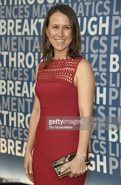 Anne Wojcicki attends the 5th Annual Breakthrough Prize Ceremony at NASA Ames Research Center on December 4 2016 in Mountain View California