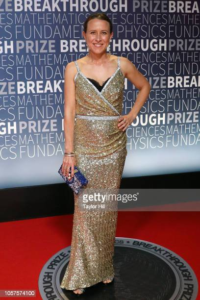 Anne Wojcicki attends the 7th Annual Breakthrough Prize Ceremony at NASA Ames Research Center on November 4 2018 in Mountain View California