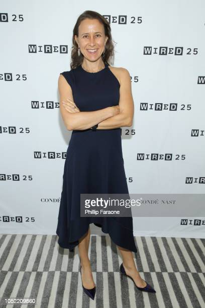 Anne Wojcicki attends WIRED25 Summit WIRED Celebrates 25th Anniversary With Tech Icons Of The Past Future on October 15 2018 in San Francisco...