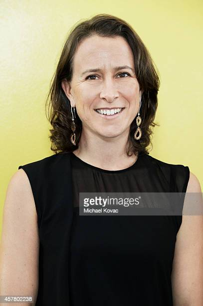 Anne Wojcicki biologist and the cofounder and chief executive officer of the personal genomics company 23andMe is photographed at the Vanity Fair New...