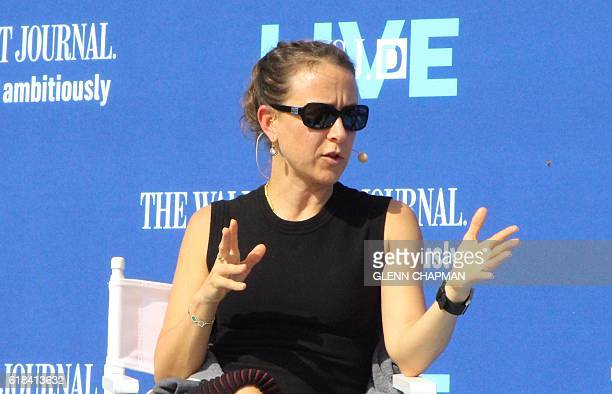 Anne Wojcicki cofounder and chief executive of private genomics company 23andMe discusses developments at the company at a WSJD Live conference in...