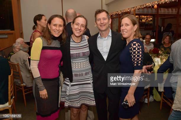 Anne Wojcicki Janet Wojcicki Dennis Troper and Susan Wojcicki attend VIP Dinner For WIRED's 25th Anniversary Hosted By Nicholas Thompson And Anna...