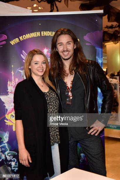 Anne Wuensche and Gil Ofarim during the 'My little Pony' Stars Autograph Session on October 14 2017 in Berlin Germany