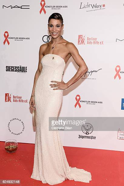 Annebelle Mandeng attends the Artists Against Aids Gala at Stage Theater des Westens on November 16 2016 in Berlin Germany